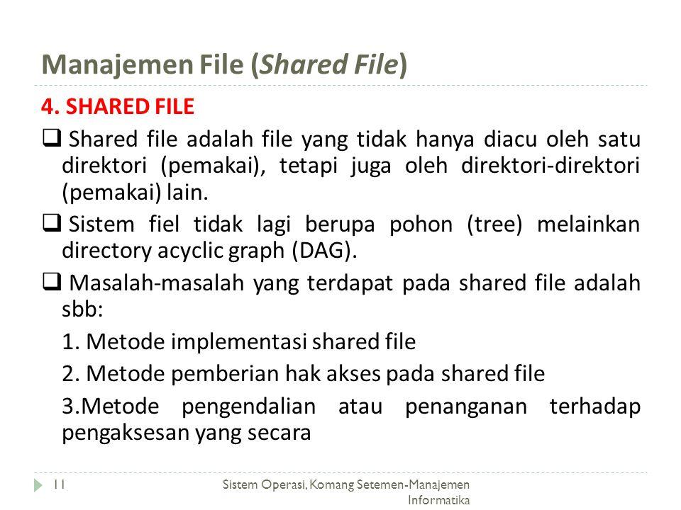 Manajemen File (Shared File)