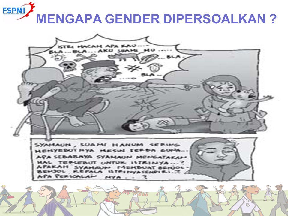 MENGAPA GENDER DIPERSOALKAN