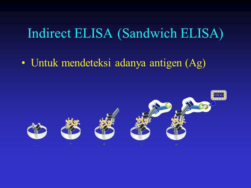 Indirect ELISA (Sandwich ELISA)