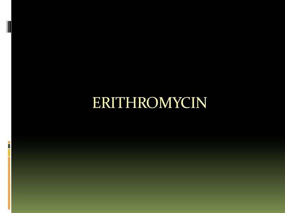ERITHROMYCIN