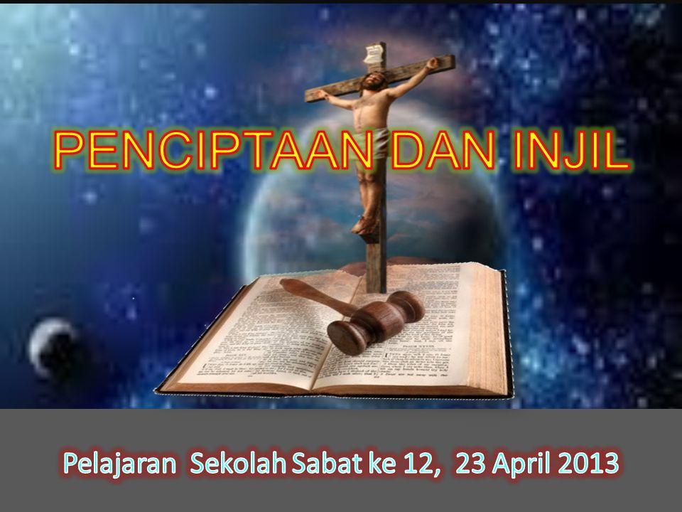 Pelajaran Sekolah Sabat ke 12, 23 April 2013