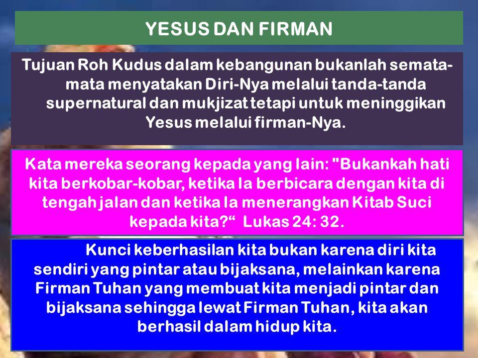YESUS DAN FIRMAN