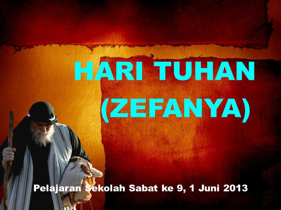 Pelajaran Sekolah Sabat ke 9, 1 Juni 2013