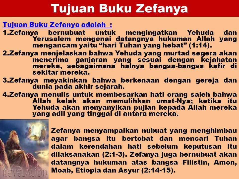 Tujuan Buku Zefanya