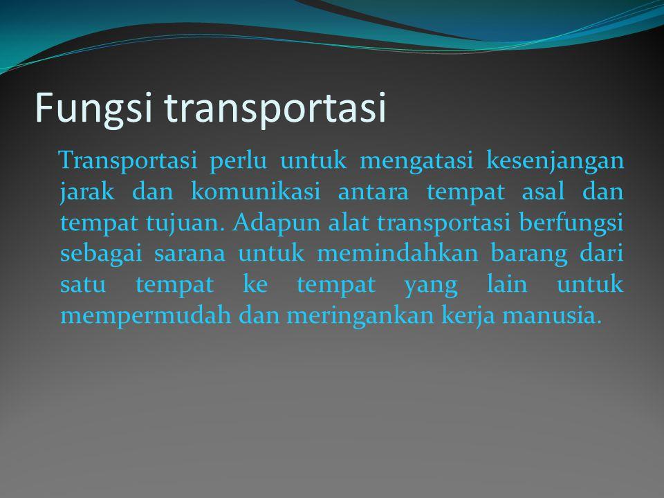 Fungsi transportasi