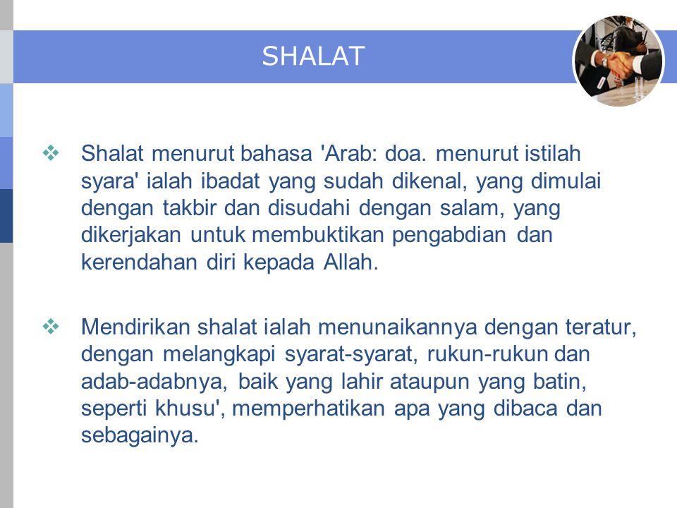 SHALAT