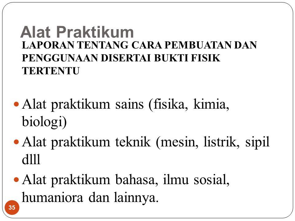 Alat Praktikum Alat praktikum sains (fisika, kimia, biologi)