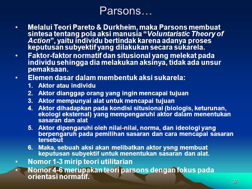 Parsons…