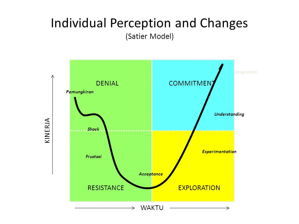 Individual Perception and Changes (Satier Model)