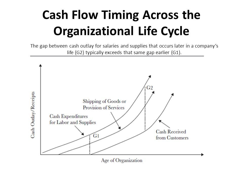 Cash Flow Timing Across the Organizational Life Cycle