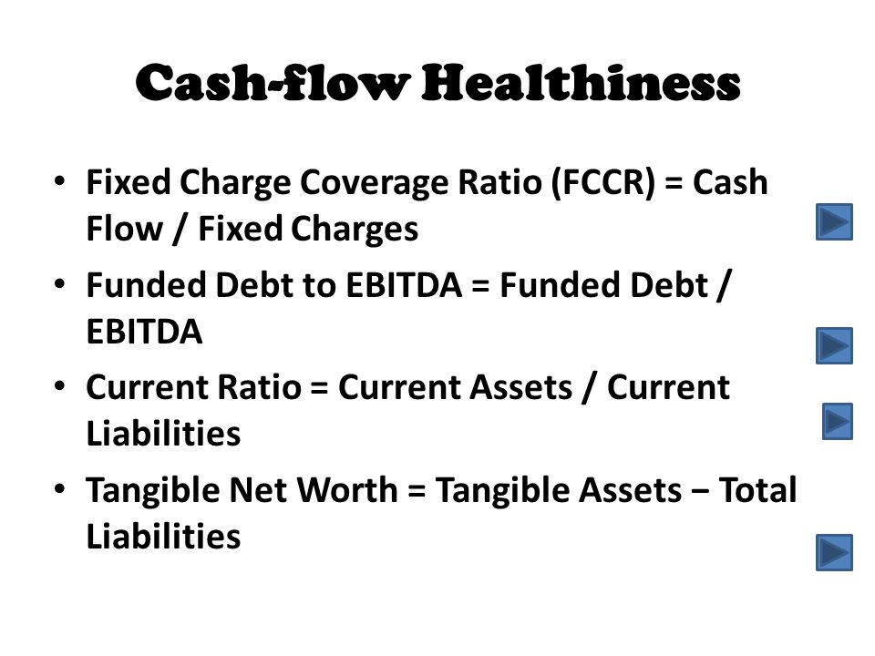 Cash-flow Healthiness