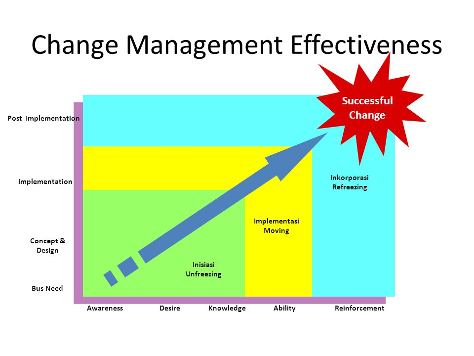 Change Management Effectiveness