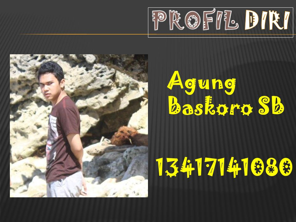 PROFIL DIRI Agung Baskoro SB 13417141080