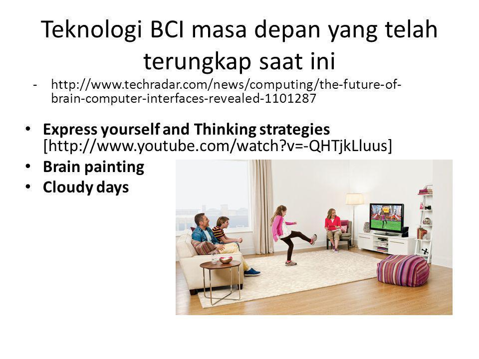 Teknologi BCI masa depan yang telah terungkap saat ini