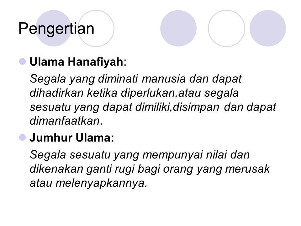 Pengertian Ulama Hanafiyah: