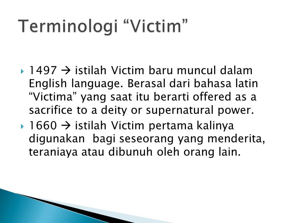 Terminologi Victim