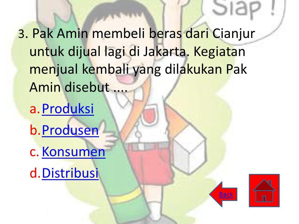 Produksi Produsen Konsumen Distribusi