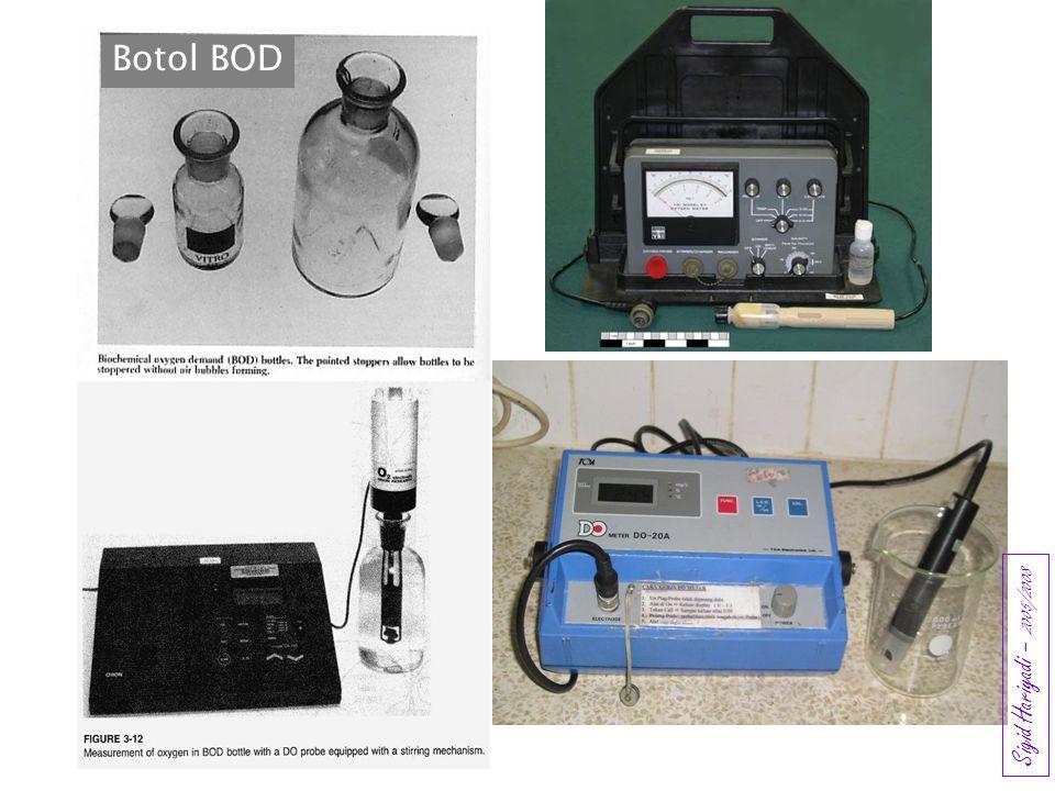 Botol BOD Sigid Hariyadi – 2005/2008