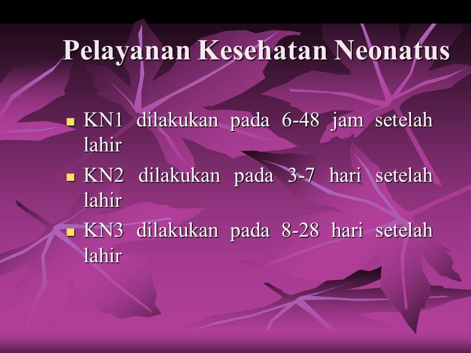 Pelayanan Kesehatan Neonatus