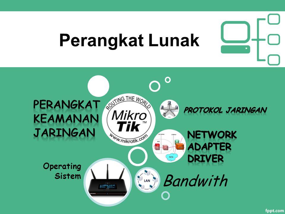 Perangkat Lunak Bandwith Perangkat keamanan jaringan