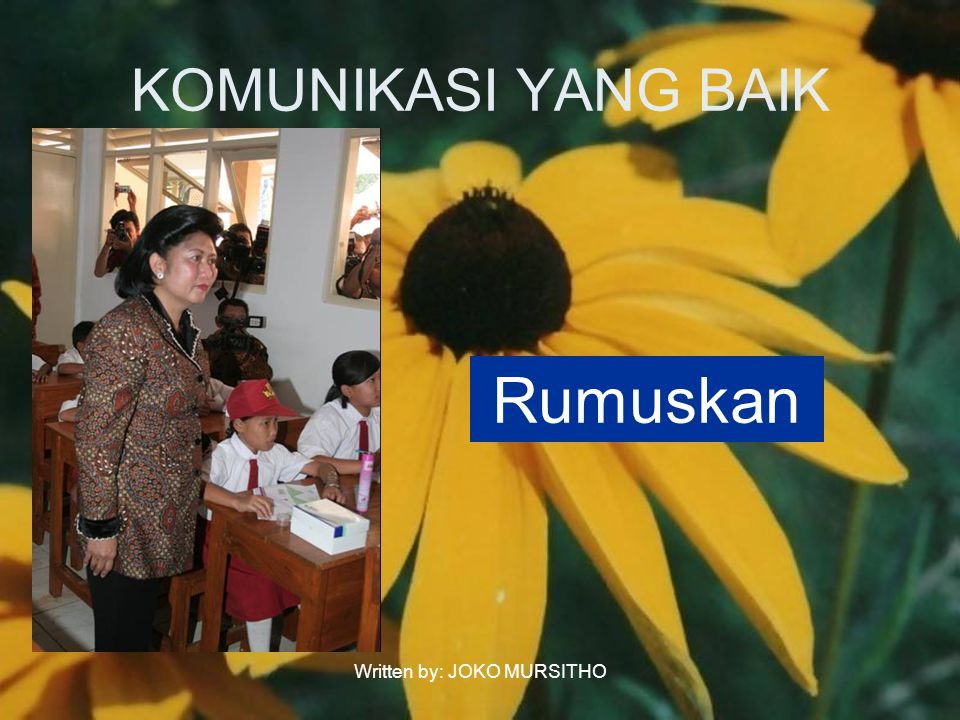Written by: JOKO MURSITHO