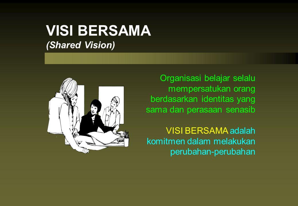 VISI BERSAMA (Shared Vision)