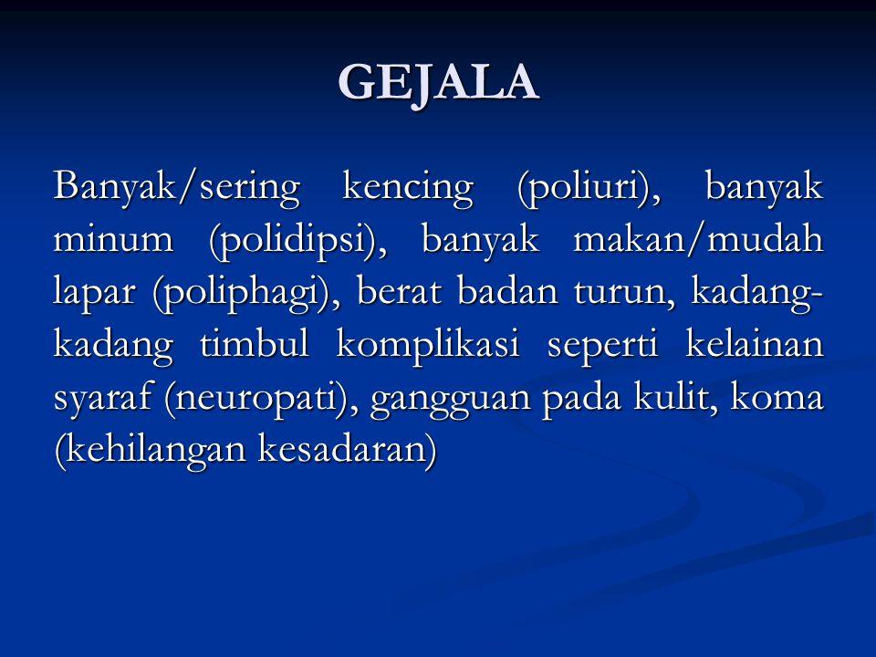 GEJALA