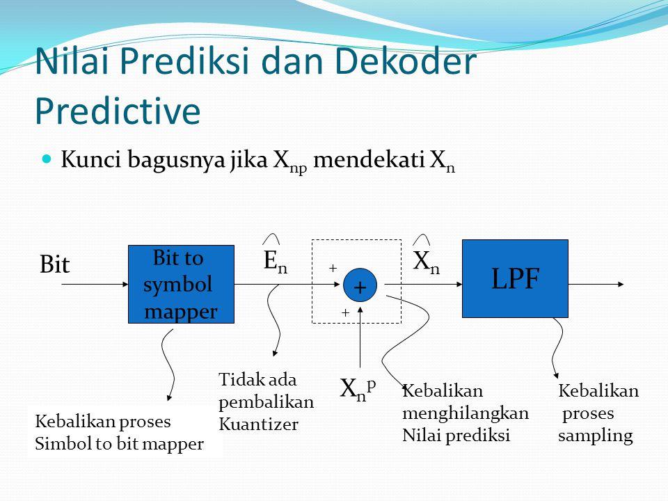 Nilai Prediksi dan Dekoder Predictive