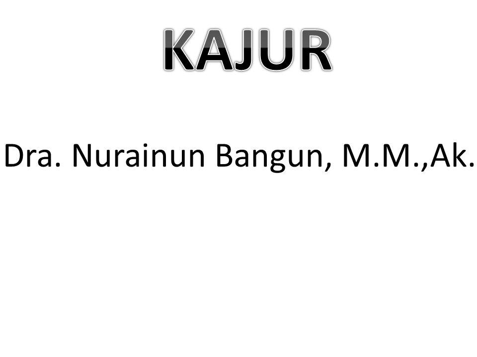 KAJUR Dra. Nurainun Bangun, M.M.,Ak.