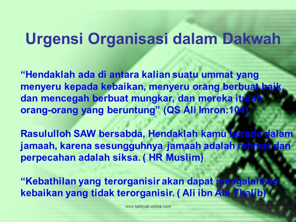 Urgensi Organisasi dalam Dakwah
