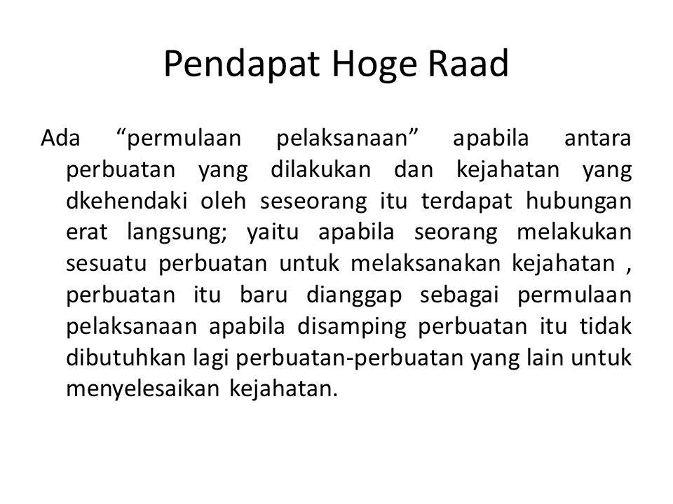 Pendapat Hoge Raad