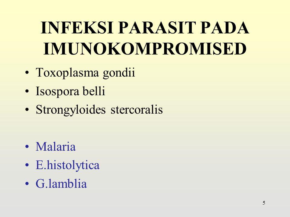 INFEKSI PARASIT PADA IMUNOKOMPROMISED