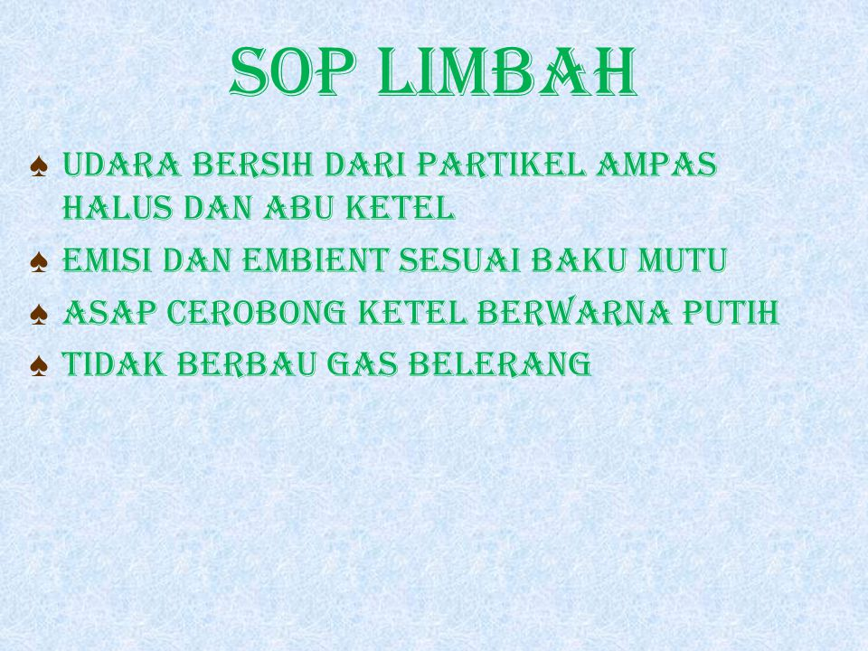 SOP LIMBAH UDARA BERSIH DARI PARTIKEL AMPAS HALUS DAN ABU KETEL