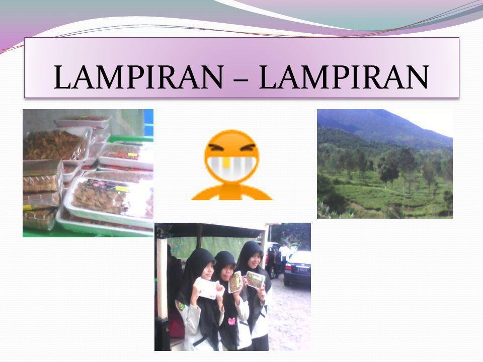 LAMPIRAN – LAMPIRAN