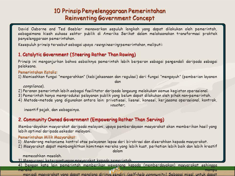 KGS con s 10 Prinsip Penyelenggaraan Pemerintahan