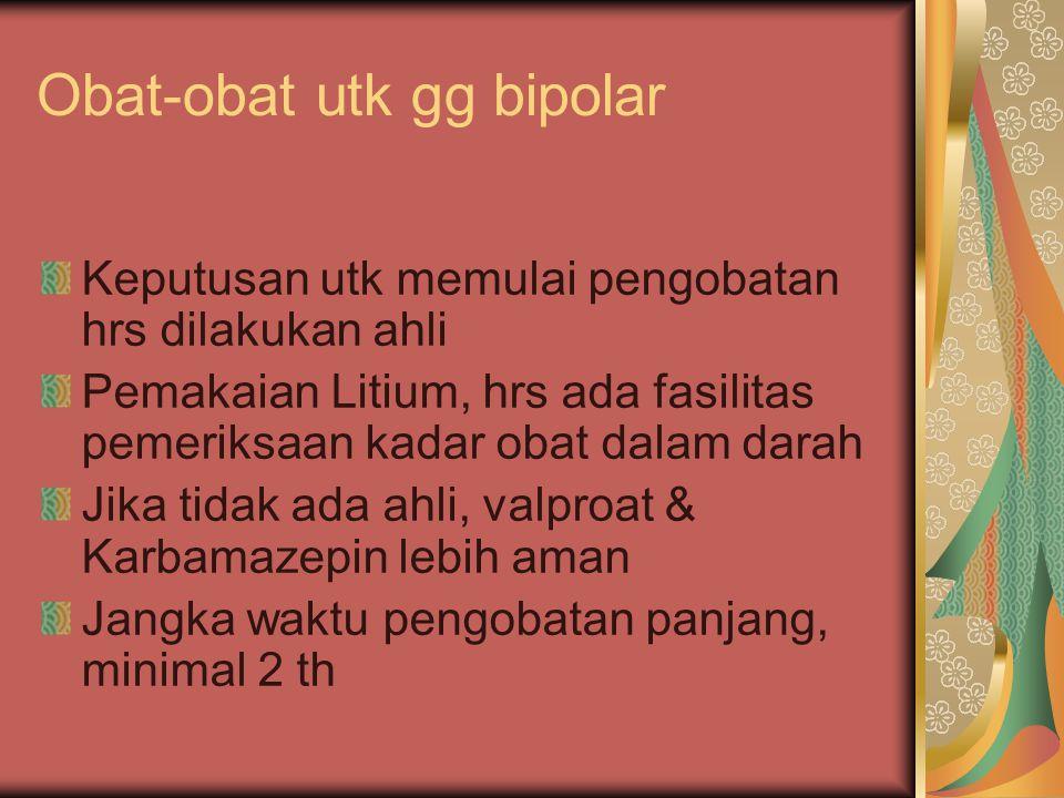 Obat-obat utk gg bipolar