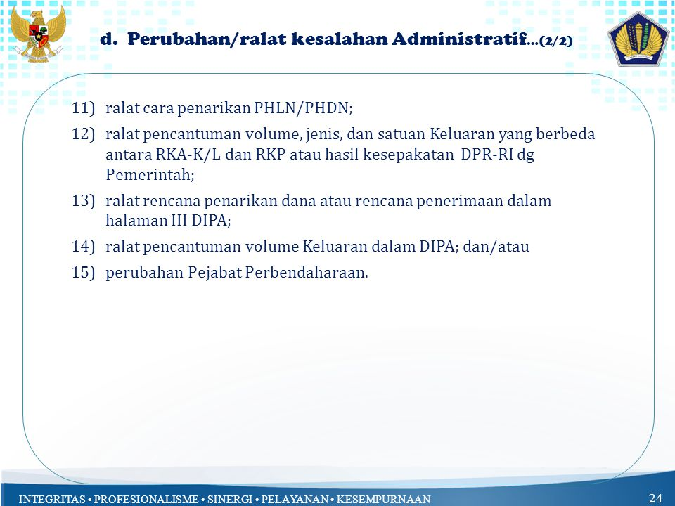 d. Perubahan/ralat kesalahan Administratif…(2/2)
