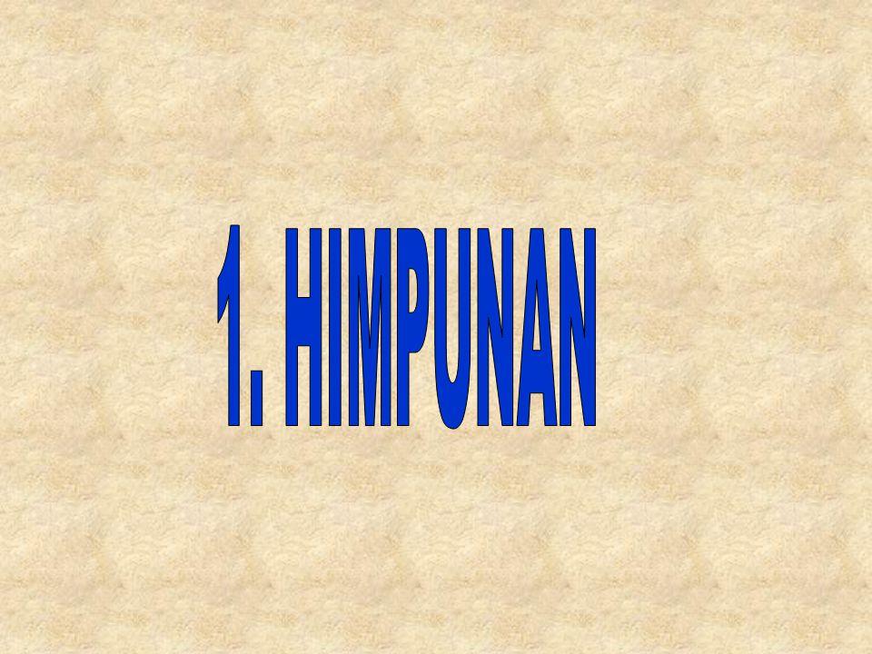 1. HIMPUNAN