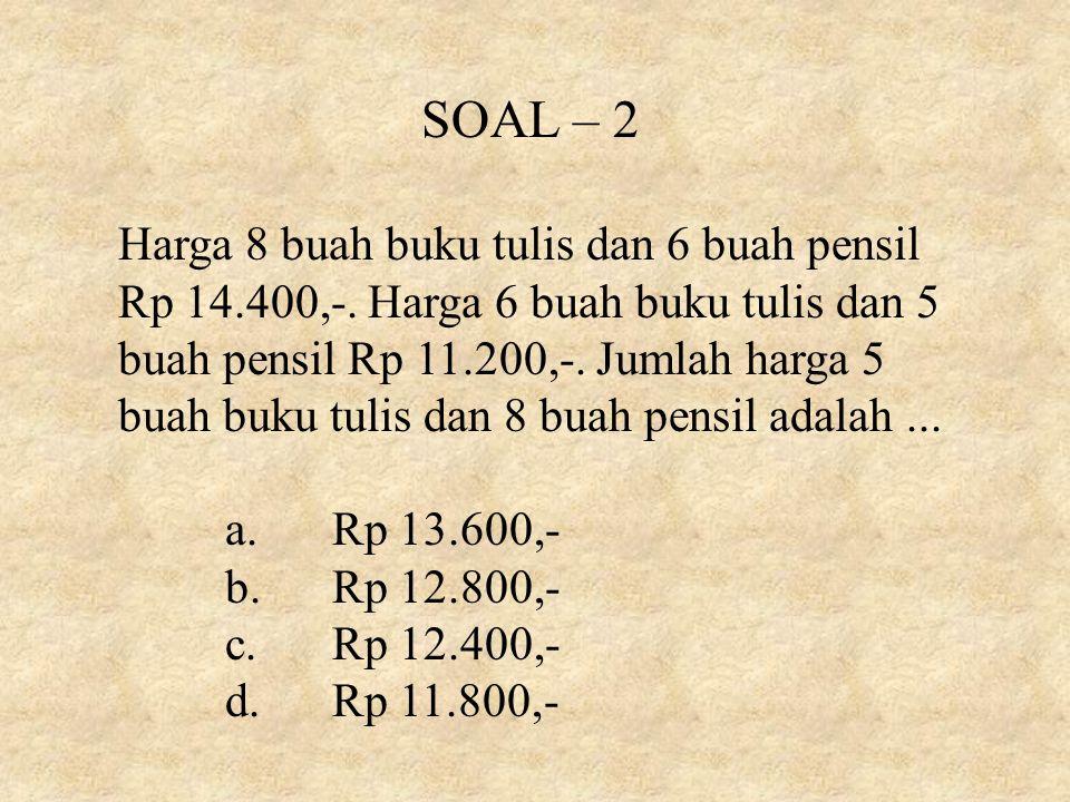 SOAL – 2