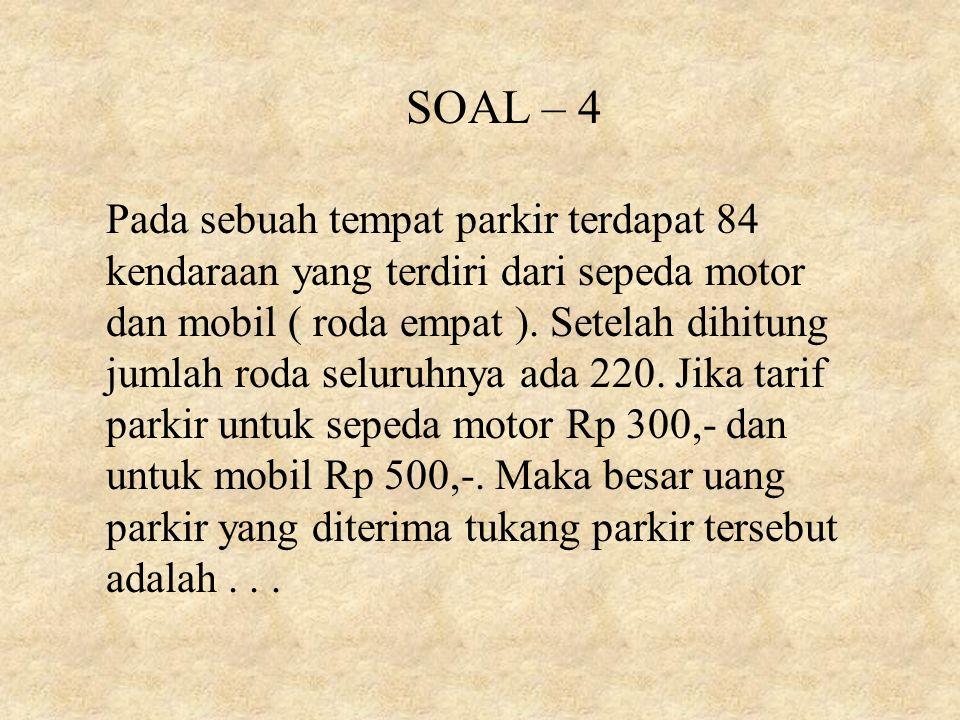 SOAL – 4