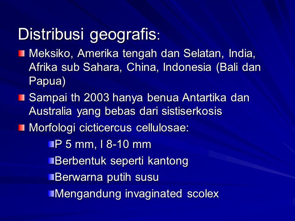 Distribusi geografis: