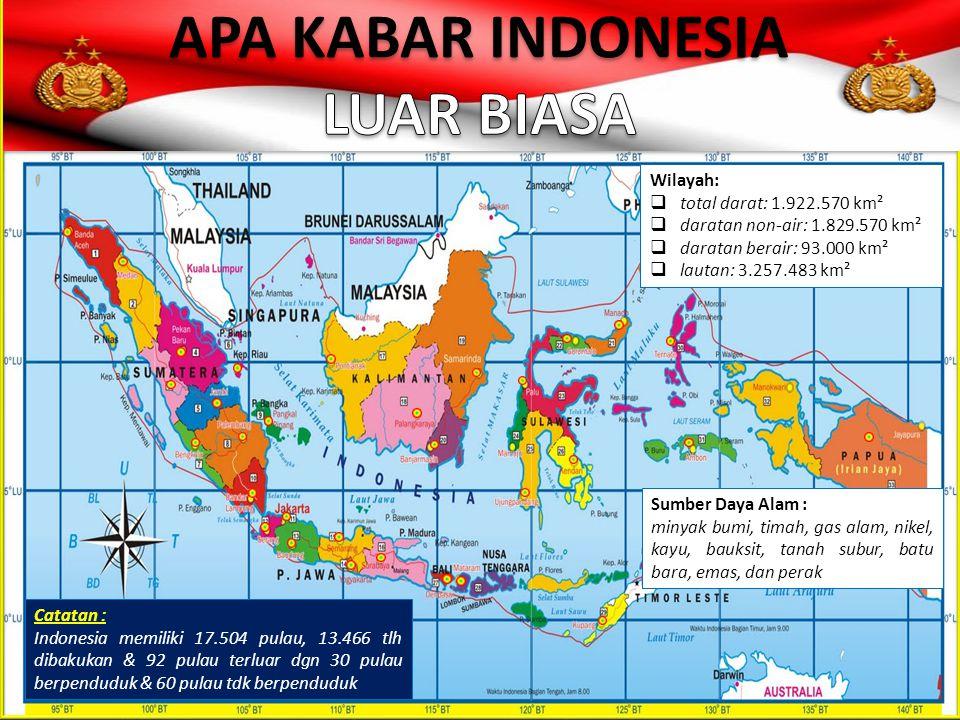 APA KABAR INDONESIA LUAR BIASA