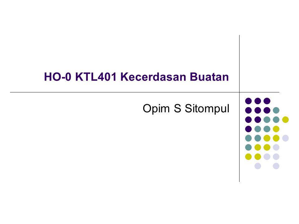 HO-0 KTL401 Kecerdasan Buatan
