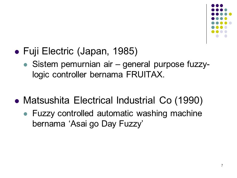 Matsushita Electrical Industrial Co (1990)