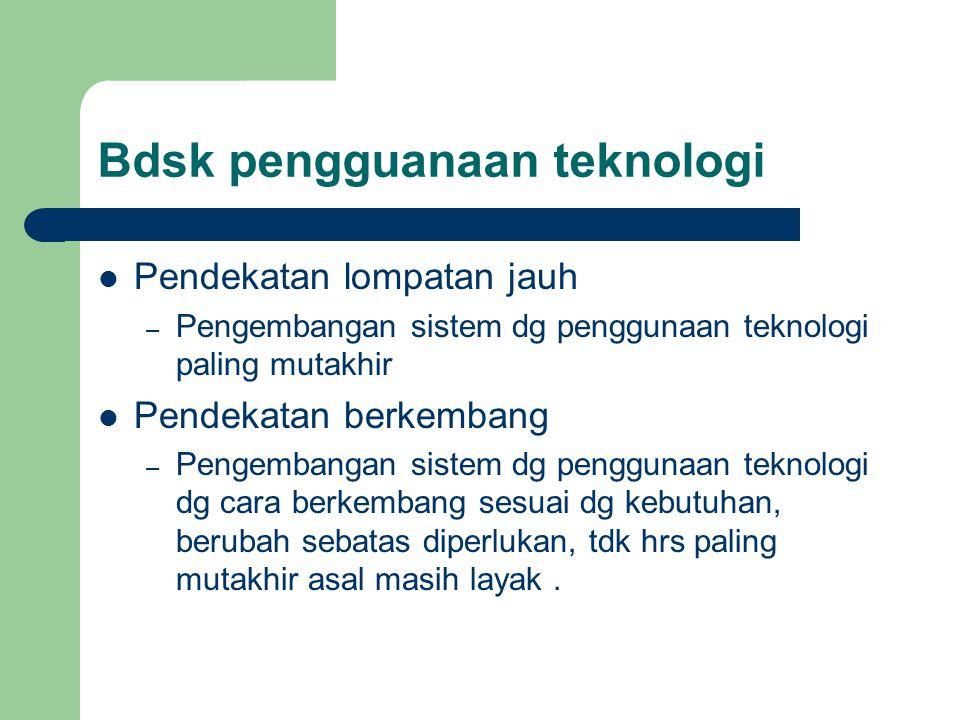 Bdsk pengguanaan teknologi