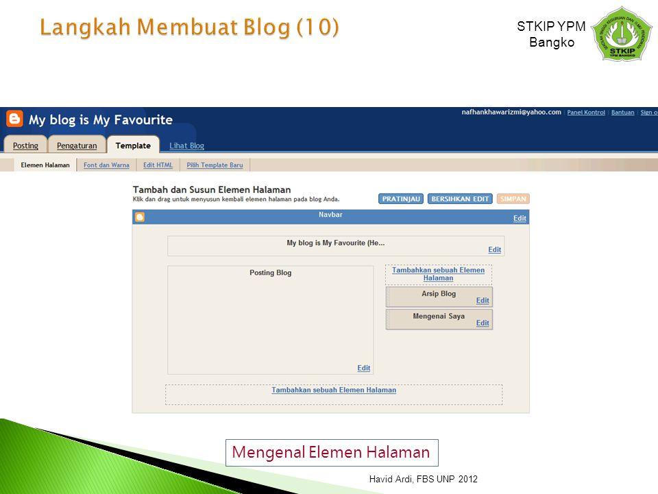 Langkah Membuat Blog (10)