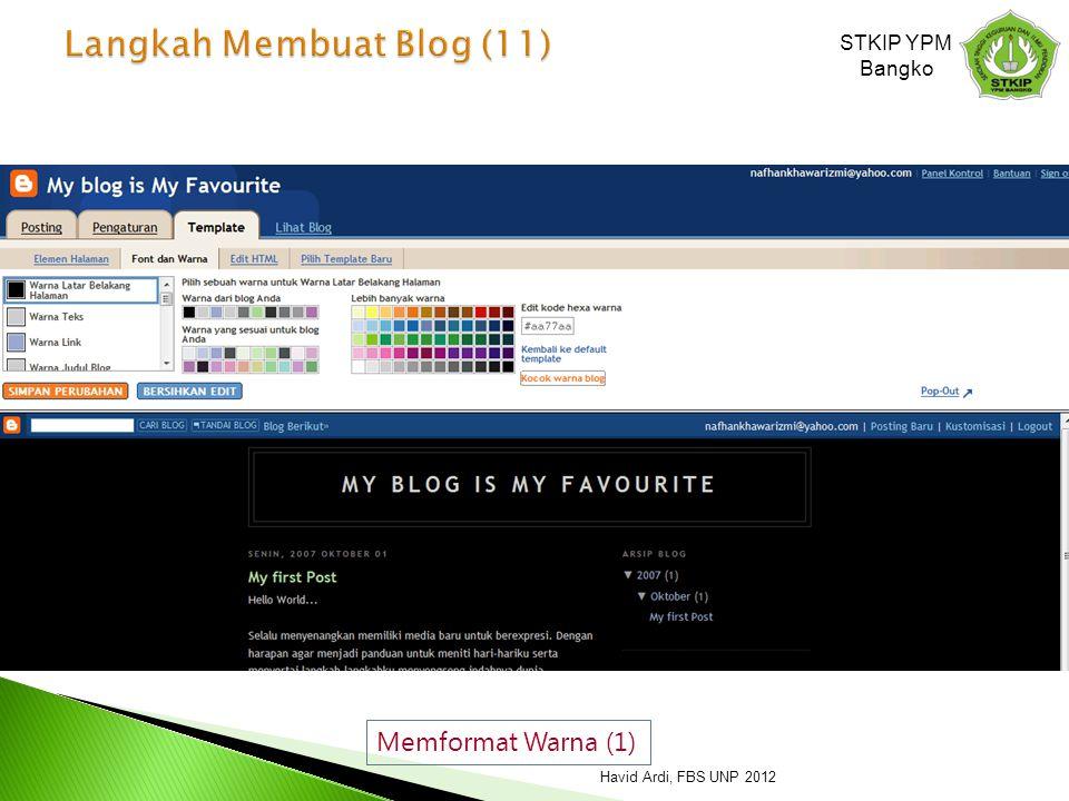 Langkah Membuat Blog (11)