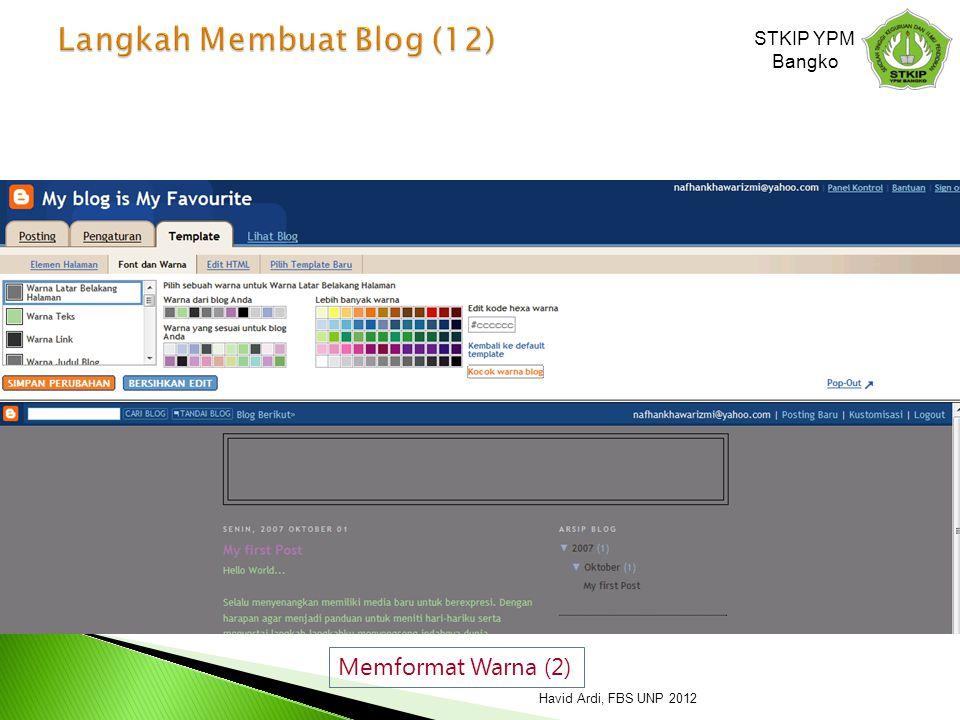 Langkah Membuat Blog (12)