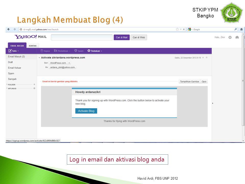 Langkah Membuat Blog (4)