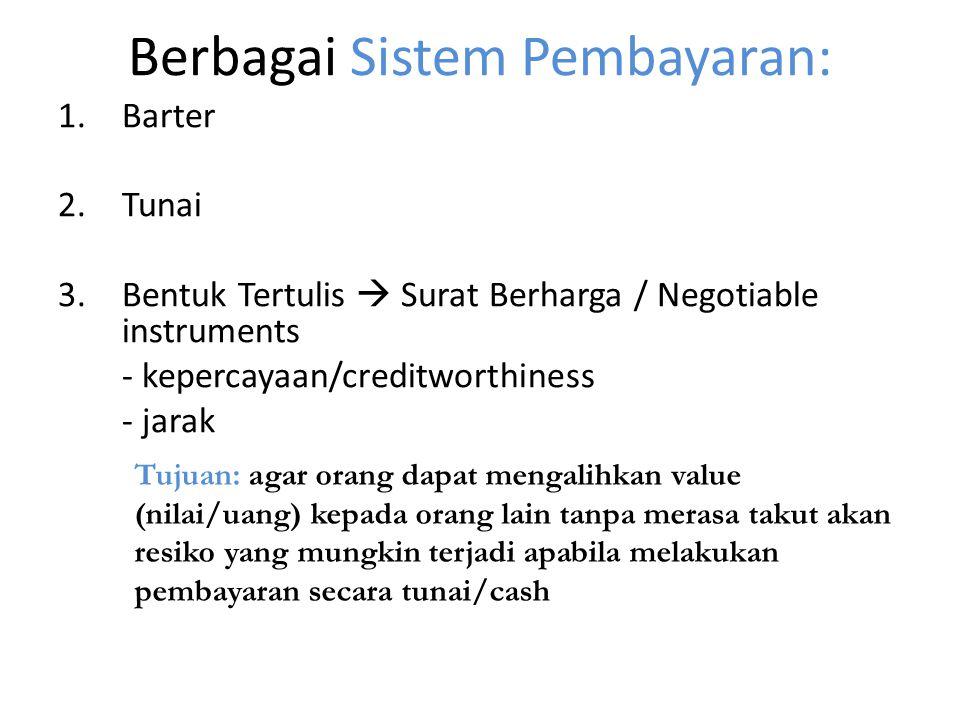 Berbagai Sistem Pembayaran:
